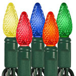 (24) Bulbs - LED - Multi-Color C6 Mini Lights Image