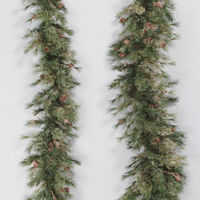 6 ft. Christmas Garland - Classic Needles - Mixed Country Pine - Unlit  - Vickerman A801708