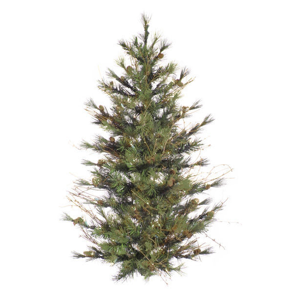 3 ft. x 24 in. Artificial Wall Christmas Tree Image