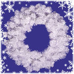 3 ft. Christmas Wreath Image
