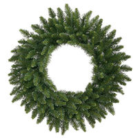 2 ft. Christmas Wreath - Classic PVC Needles - Camdon Fir - Unlit  - Vickerman A861024