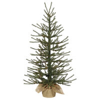 2 ft. x 14 in. - Angel Pine - 239 Classic PVC Tips - Unlit - Potted Artificial Christmas Tree