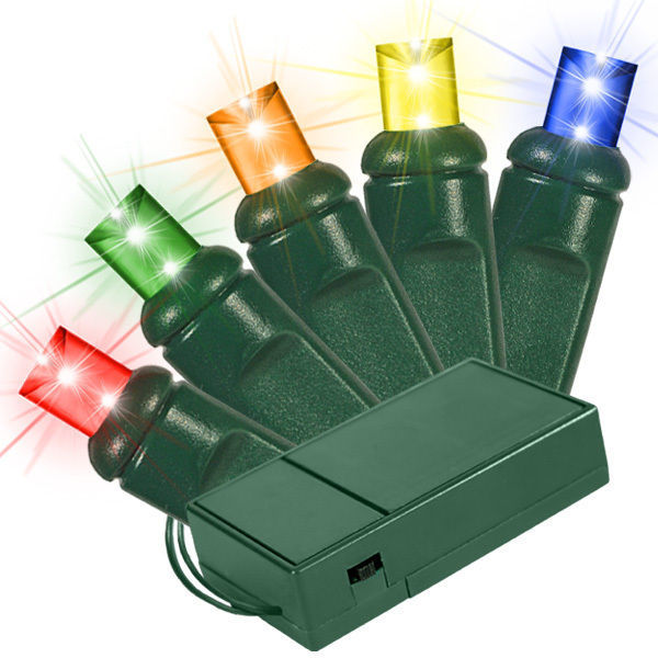 20 Multi Color Bulbs Led Wide Angle Mini Lights