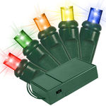 9 ft. Lighted Length - (20) LEDs - MULTI-COLOR Image