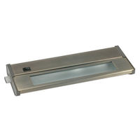 10.25 in. - Xenon - Under Cabinet Light Fixture - 20 Watt - Brushed Steel - Priori Xenon - Hard Wired - American Lighting 043X-1-BS