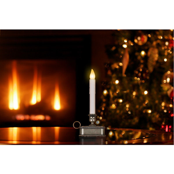 9 in. ht. - LED - Christmas Candle Image