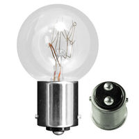 30 Watt - S9.5 - 120 Volt - DC Bayonet Base - EI-722 Mini Indicator Lamp - Eiko 41079