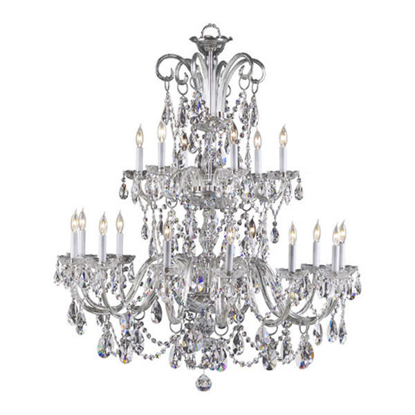 Quorum 630-18-514 - 2 Tier Crystal Chandelier Image