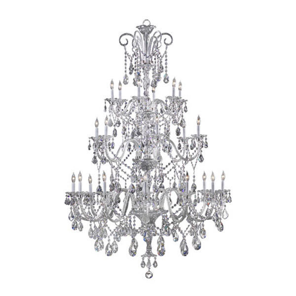 Quorum 664-24-514 - 3 Tier Luxurious Chandelier Image