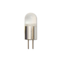 0.6 Watt - G4 Base LED - 6000 Kelvin - Stark White Color - Replaces 3 Watt Halogen - 12 Volt AC/DC