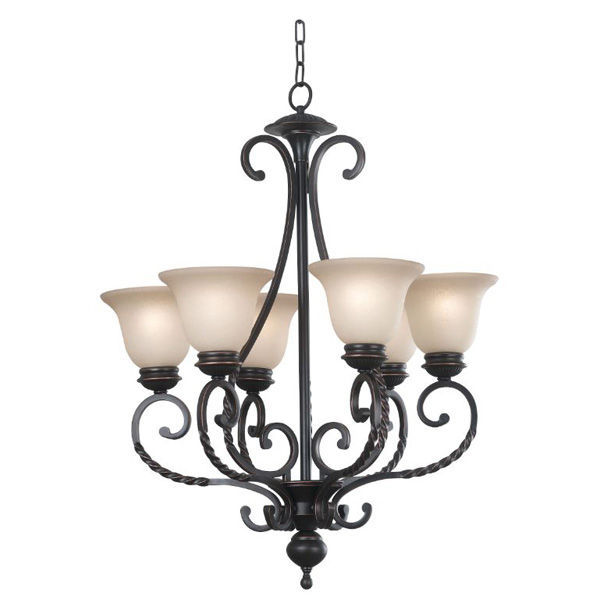 Kenroy Home 10196ORB - Classic Chandelier Image