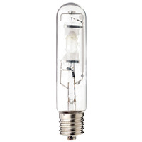 175 Watt - T15 - Metal Halide - Aquarium Lamp - Unprotected Arc Tube - 20,000K - ANSI M57/E - Mogul Base - Horizontal Burn - MH175/HOR/MOG/20K - Plusrite 2402