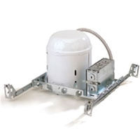 6 in. - 150 Watt Max. - New Construction Line Voltage Housing - For use in Non-Insulated Ceilings - 120 Volt
