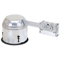 6 in. - Shallow Insulated Ceiling Airtight Remodel Housing with Quick Connectors - 120 Volt - PLT PHRIC27QAT