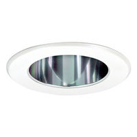 5 in. - Reflector Cone with Metal Ring - Specular Clear Reflector/White Ring - PLT PTS5231C