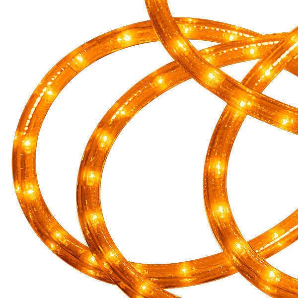 12 ft. - Rope Light - Amber - 120 Volt Image