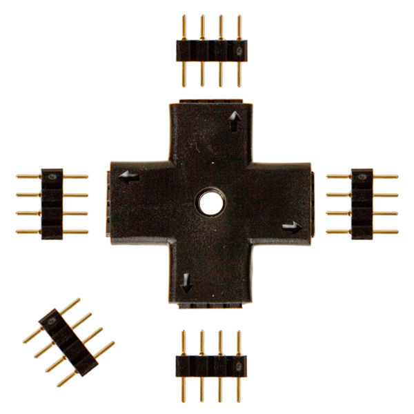 +Shape OR Plus Sign Connector Image