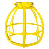 Plastic Lamp Guard - Yellow - Replacement Cage