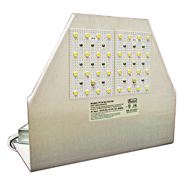 42 Watt - LED - Full Cut-Off Wall Pack - 150W  Equal Image