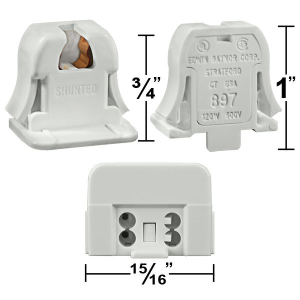 T5 - Mini Bi-Pin Socket - PLT EG897-S Image