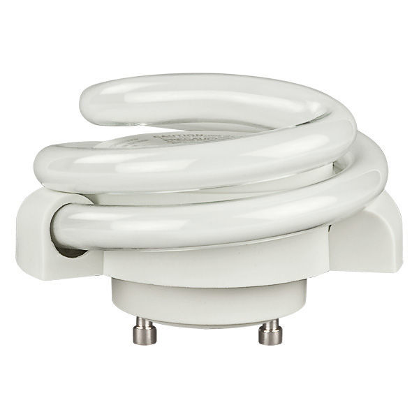 13 Watt - Low Profile Spiral CFL - GU24 Base Image