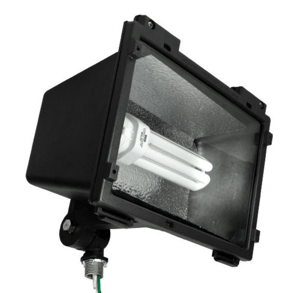 42 Watt - Compact Fluorescent Flood Light Fixture Image