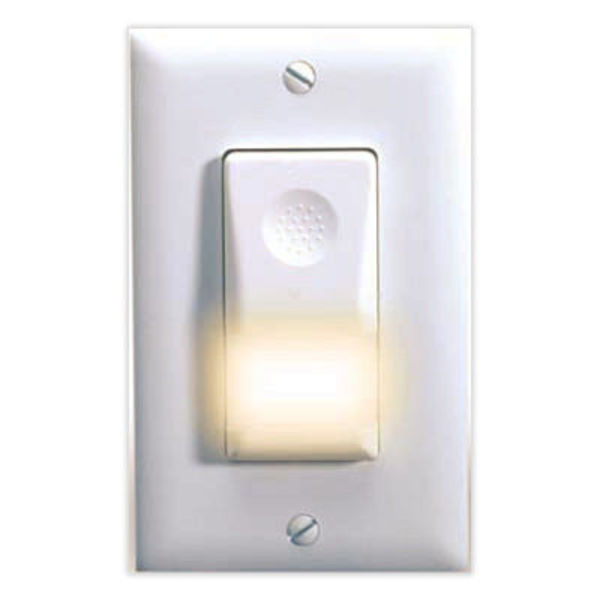 Watt Stopper Legrand WN-100-277-W - 180 Deg. PIR Occupancy Sensor with Night Light Image