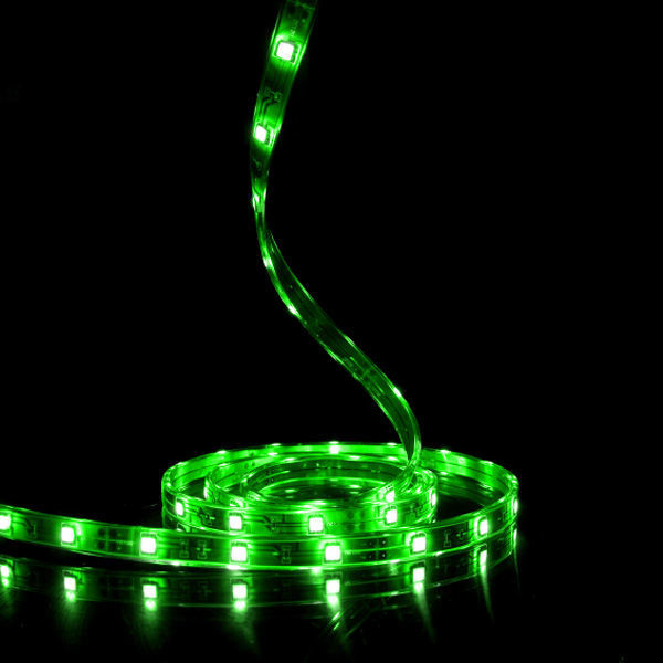 4 in. - Green - LED - Tape Light - Dimmable - 12 Volt Image