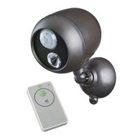 Mr Beams - Wireless Spotlight with Remote Control and Motion Sensor - Photocell - Weatherproof - Battery Powered