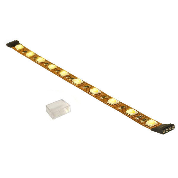 12 in. - 2400K Very Warm White - LED - High Output - Tape Light - Dimmable - 24 Volt Image