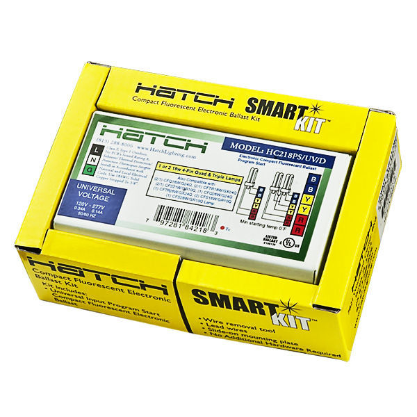 Hatch HC218/PS/UV/K CFL Ballast Image