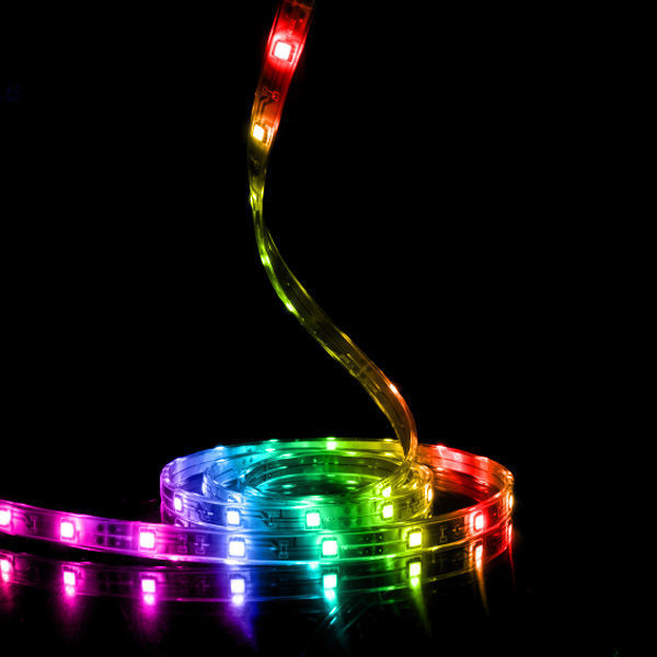 10 ft. - RGB Color Changing - LED Tape Light - High Output - Dimmable - 12 Volt Image