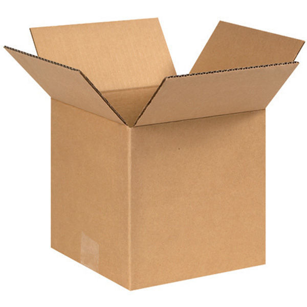 (25 Boxes) 6L x 6W x 6H in. - RSC Cubic Corrugated Boxes Image