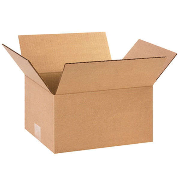 (25 Boxes) 12L x 12W x 6H in. - RSC Flat Corrugated Boxes Image