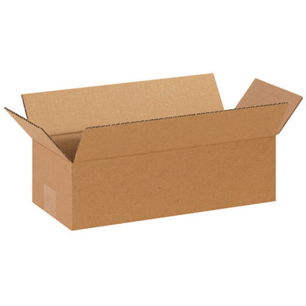 (25 Boxes) 18L x 8W x 6H in. - RSC Long Corrugated Boxes Image