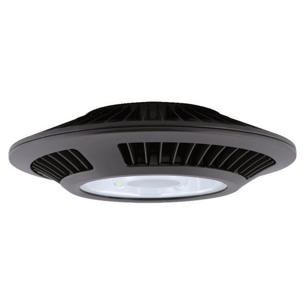 LED Ceiling Light Fixture - 2498 Lumens - 52 Watt - 175W Equal Image