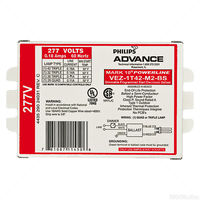 Advance Mark 10 Powerline VEZ-1T42M2-BS-35M - Dimming - (1) Lamp 42 Watt CFL - 277 Volt - Programmed Start - 1.0 Ballast Factor