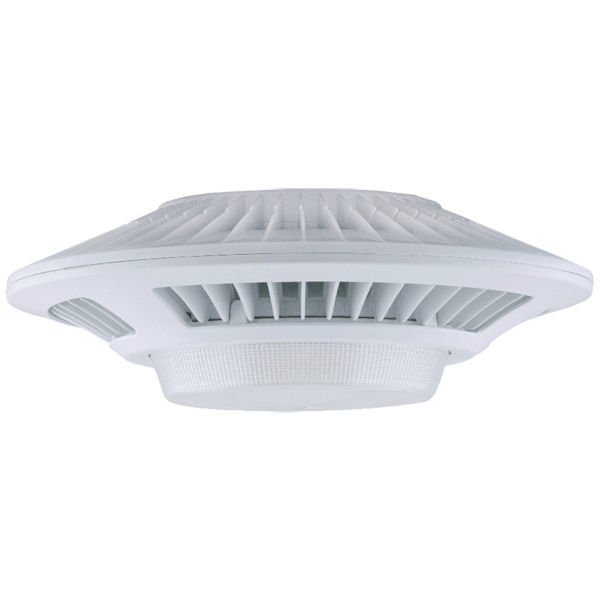 LED Garage Light Fixture - 3644 Lumens - 52 Watt - 175W Equal Image