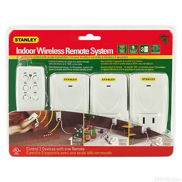 (3) Wireless Christmas Light Controllers Image