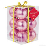 Pink Ball Ornaments Image