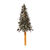 2.5 ft. Artificial Half Wall Christmas Tree