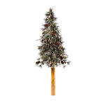 3 ft. Artificial Half Wall Christmas Tree Image