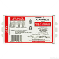 Advance Mark 10 Powerline VEZ-2T42-M3-LD - (2) Lamp - 42 Watt CFL - 277 Volt - Programmed Start - 1.0 Ballast Factor - Dimming