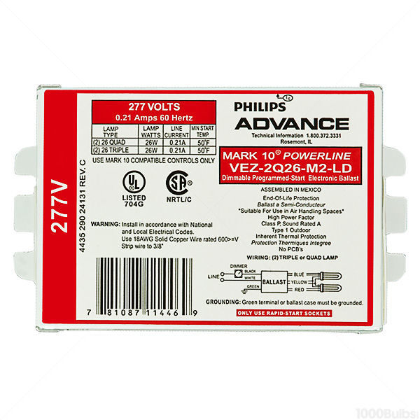 Advance Mark 10 Powerline VEZ-2Q26-M2-LDK Image