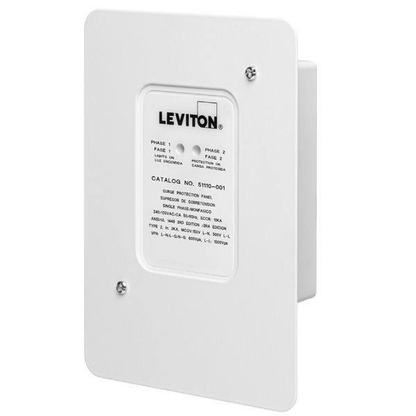 Leviton 51110-1 - AC Single Phase Surge Protector Image