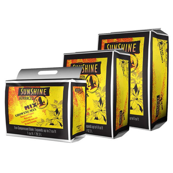 2.2 cu. ft. - Sunshine Advanced Growing Mix #4 Image