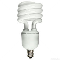 Spiral CFL - 13 Watt - 60W Equal - 2700K Warm White - Candelabra Base