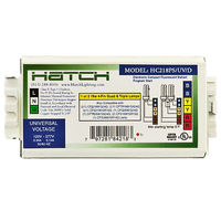 Hatch HC218/PS/UV/K - Smart Kit - (2) Lamp - 18 Watt CFL - 120/277 Volt - Programmed Start