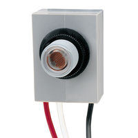 Intermatic K4023C - Photo Control - Thermal Type Photocell - Fixed Position Mounting - Mechanism Only - Dusk-To-Dawn - 208-277 Volt