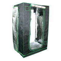 2 x 4 ft. - Indoor Grow Tent - Mylar Thermal Protection - Adjustable Intake and Exhaust Ports - Waterproof Floor